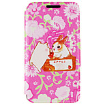 Kinston® Rabbit and Pig Pattern PU Leather Full Body Cover with Stand for iPhone SE/5/5s/6/6s/6 Plus/6s Plus