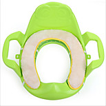 Children Push Toilet Seat Potty Pad Applied Against The Cold
