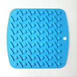 Thick Silicone Mat Slip Mat Insulation Mat Table Mat 5Pcs