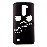Black Eyes Pattern TPU Soft Case Phone Case for LG Series Model