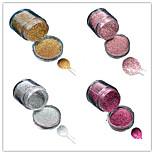 1 Bottle Nail DIY Beautiful Color Colorful Laser Glitter Powder Nail Beauty Decoration L01-04