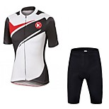 KEIYUEM®Others Summer Cycling Jersey Short Sleeves + Shorts Ropa Ciclismo Cycling Clothing Suits #64