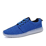 Men's LED Shoes High LED light luminous shoes USB charging Best Seller Casual Shoes Blue / Green / Red /Gray