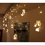 EU Plug Stars 220V 12LED Creative Small Bulb String Lights
