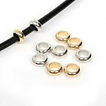 Beadia 50Pcs 12mm Round Big Hole Acrylic CCB Plastic Spacer Loose Beads European Rings (6mm Hole)