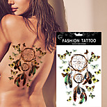 5pcs Tattoo Aufkleber Andere Non Toxic / WaterproofDamen / Herren / Erwachsener / Teen Flash-Tattoo Temporary Tattoos
