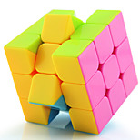 Toys Yongjun® Magic Cube 3*3*3 Professional Level Magic Toy Smooth Speed Cube Magic Cube puzzle Pink / Black / White Plastic