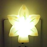 (Farge tilfeldig) sopp vase lysstyring energisparing natt lys