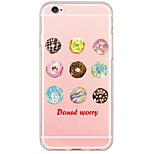 Donuts Pattern TPU Soft Ultra-thin Back Cover Case Cover For Apple iPhone  6 Plus / iPhone 6s/6 / iPhone 5s/5