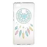 Blue Campanula Pattern TPU Soft Case Phone Case for Huawei Series Model