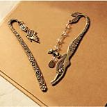 European And American Jewelry Retro Stationery Spirit Pattern Mermaid Bookmark
