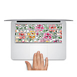 Keyboard Decal Laptop Sticker Floral for MacBook Air 13