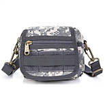 8 L Shoulder Bag Camping & Hiking Outdoor Multifunctional Gray Nylon