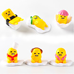 Huang Jun Lazy Cartoon Egg Shape Ornaments Toy Doll Model