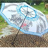 Gintama Quality Sunny Umbrella Folding Umbrella Three Folding Umbrella Q Version Of The Cartoon Colleagues
