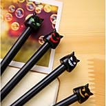 South Korea Creative Stationery Angel And Devil Cute Aqueous Gel Pen Student Pen 0.38MM