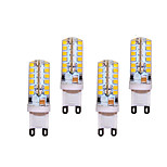 5W G9 Luces LED de Doble Pin T 48 SMD 2835 400 lm Blanco Cálido / Blanco Fresco Decorativa AC 100-240 V 4 piezas