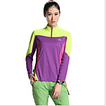 SPAKCT Bike/Cycling Jersey + Shorts / Tops Women's Long Sleeve Breathable Terylene / Tactel Fashion Green / Pink / Blue / PurpleS / M / L