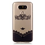 Hollow High Permeability Laughing Fox Pattern TPU Soft Case Phone Case For LG G5/K5