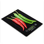 Touch-screen precisa balanças de cozinha eletrônico de pesagem máxima 5 kg 0,1 g