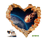 Imitation 3D Wall Stickers Creative Love Rupture