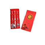 Events Practical Small Gifts Small Gifts Every Year More Than Stainless Steel Cutlery Fork Spoon Chopsticks