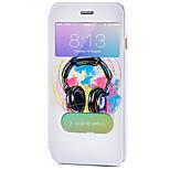 Ganzkörper Automatisches Schlafen/Aufwachen Karton PU - Leder Hart Fall-Abdeckung für Apple iPhone 6s Plus/6 Plus / iPhone 6s/6