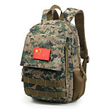 5 L Shoulder Bag Multifunctional Army Green Canvas