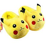 Kigurumi Pajamas Shoes Halloween Animal Sleepwear Yellow Solid Coral fleece Slippers Halloween / Christmas / Children's Day