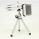 apple 4 / 4s 5 / 5s 12 fois gm téléobjectif télescope de la caméra photographique extérieure len