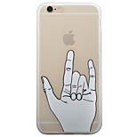 Capa traseira Congelado Other TPU Macio 个性图案 磨砂软包 Case Capa Para Apple iPhone 6s Plus/6 Plus / iPhone 6s/6