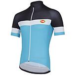 Sports Bike/Cycling Tops Men's Short Sleeve Breathable / Seamless / Ultra Light Fabric / SoftLYCRA® / Terylene