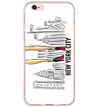 Per Custodia iPhone 6 / Custodia iPhone 6 Plus Ultra sottile / Traslucido Custodia Custodia posteriore Custodia Sexy Morbido TPU Apple