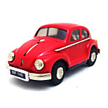The Car Wind-up Toy Leisure Hobby Metal Red / White For Kids