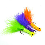 Fishing-1500 pcs Dark Blue / Green / Orange Aluminium / Carbon steel / Feather-AnmukaSea Fishing / Bait Casting / Ice Fishing / Other /