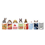 Wall Stickers Wall Decals Style Christmas Gift Animal Cartoon PVC Wall Stickers