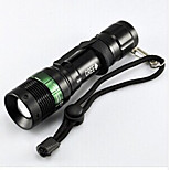 Bike Light,Flashlights-1 Mode 50 Lumens Easy to Carry Otherx3 Battery Cycling/Bike Black Bike Other CREE Q5