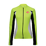 Sports Cycling Tops Women's Bike Breathable / Front Zipper / Wearable / Ultra Light Fabric Long Sleeve LYCRA®