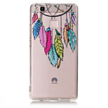 TPU Material Campanula Pattern Painted Relief Phone Case for Huawei P9 Lite/P9/P8 Lite