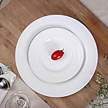 Features Western Tableware Round Ceramic Plate