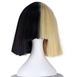 Cosplay Wigs Cosplay Cosplay Black Short Anime Cosplay Wigs 33 CM Heat Resistant Fiber Male / Female