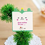 B0328-X Korea Creative Postcards Cute Cartoon Baby Greeting Card