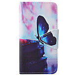 Butterfly Pattern PU Material High-End Card Phone Case For iPhone 7 5 5s se 6 6s 6s Plus 6Plus