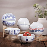 Japanese Style High-temperature White Porcelain Tableware Porcelain
