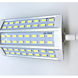 10 R7S Bombillas LED de Mazorca T 48LED SMD 5730 680LM-800LM lm Blanco Cálido / Blanco Fresco Decorativa AC 85-265 V 1 pieza