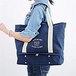 The New Style Of Leisure Canvas Bag Multifunctional Telescopic Travel Clothing Shoes Storage Bag Shopping
