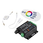 Led RGB Music Controller RF Remote 20m Effective Control DC12-24V Max 18A