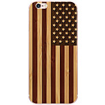 Para Funda iPhone 6 / Funda iPhone 6 Plus Diseños Funda Cubierta Trasera Funda Bandera Dura Policarbonato AppleiPhone 6s Plus/6 Plus /
