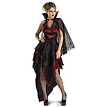 Costumes Angel & Devil / Vampires / Wizard Halloween / Christmas / Carnival Red / Black Vintage Dress