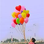 Wedding Supplies Festive Supplies Decorative Atmosphere 1.5 G Heart-Shaped Balloon